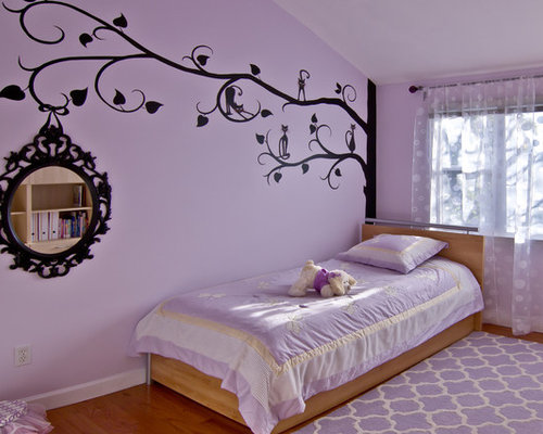 Purple painted rooms home design ideas pictures remodel Teenage room paint ideas