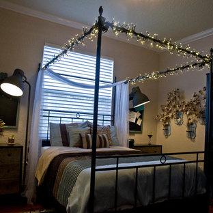 Idee per una piccola cameretta da letto boho chic