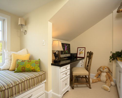 Pale yellow paint home design ideas pictures remodel and for Houzz kids room