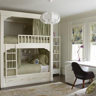 Klassisches Kinderzimmer mit Schlafplatz in Toronto