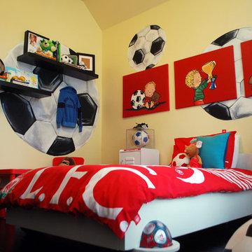 Kix's Soccer Room
