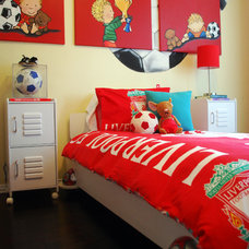 Contemporary Kids Kix's Soccer Room