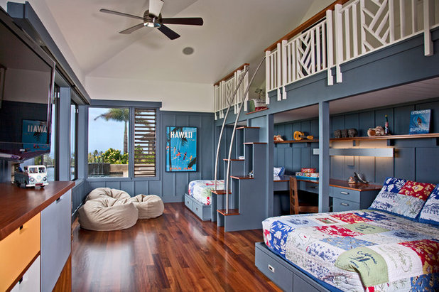 Room of the Day: 3 Brothers Share 1 Big Bedroom in Hawaii