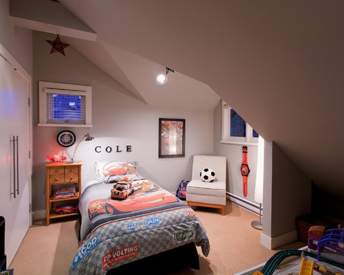 Inspiration For A Contemporary Kidsu0027 Bedroom Remodel In Vancouver