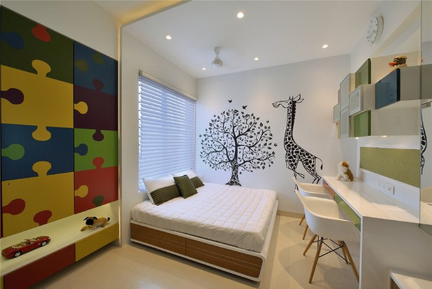 Contemporary Kids by Milind Pai Architects & Interior Designers