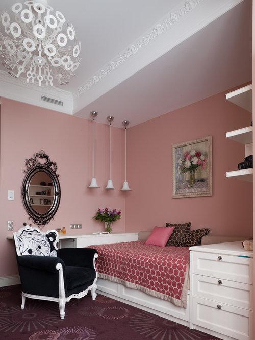 kleine m dchenzimmer ideen design houzz. Black Bedroom Furniture Sets. Home Design Ideas