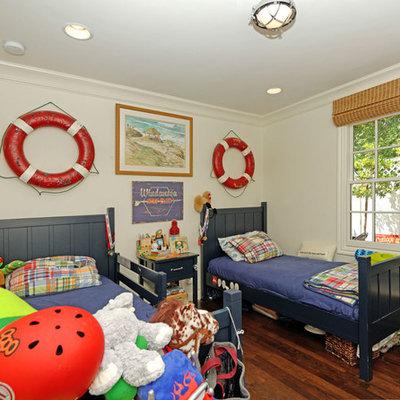 Inspiration for a coastal kids' bedroom remodel in San Diego