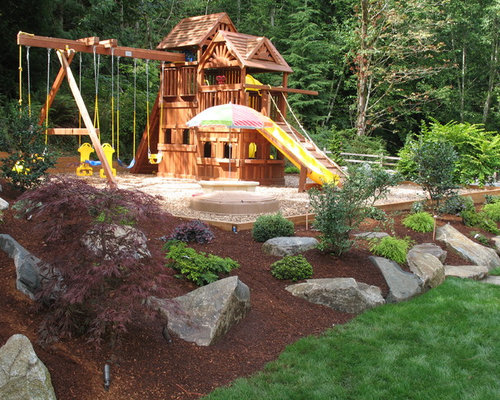 garden design with playground landscaping home design ideas pictures remodel and decor with container - Small Garden Ideas Kids
