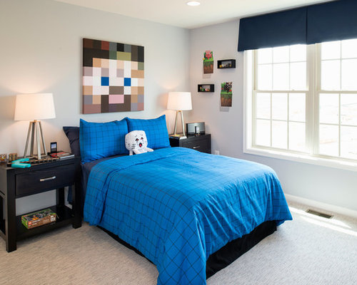 Chambre moderne minecraft meilleures id es cr atives for Chambre minecraft
