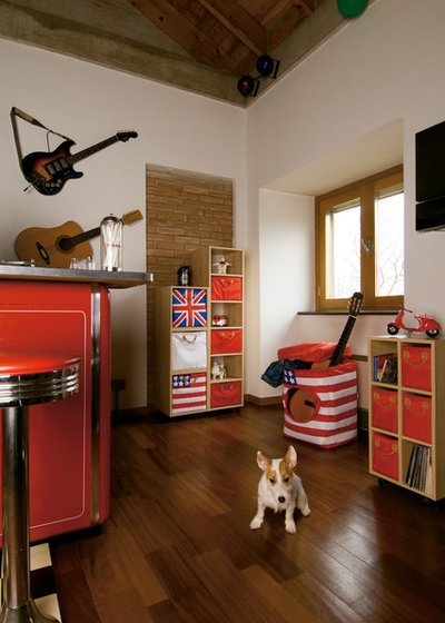 8 ways to style up the man cave for Guitar bedroom designs