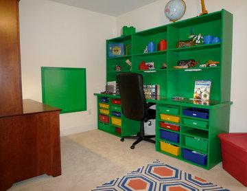 LEGO Themed Bedroom
