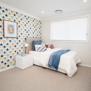 This is an example of a contemporary kids' room in Sydney.