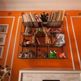 Chambre D Enfant Avec Un Mur Orange Chicago Photos Et Idees Deco
