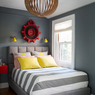 Example Of A Mid Sized Transitional Gender Neutral Medium Tone Wood Floor Kids