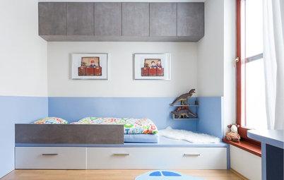 conseils de pro pour am nager l 39 espace sous un lit mezzanine. Black Bedroom Furniture Sets. Home Design Ideas