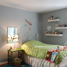 Eclectic Kids Little Girl Bedroom