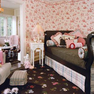 Foto di una stanza dei giochi shabby-chic style