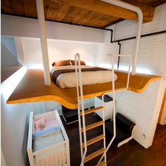 contemporary kids Loft Idea