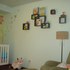 contemporary kids Logan Louise Room