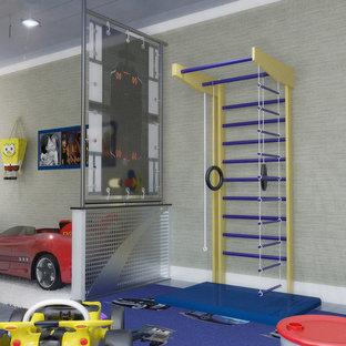 Foto på ett funkis barnrum