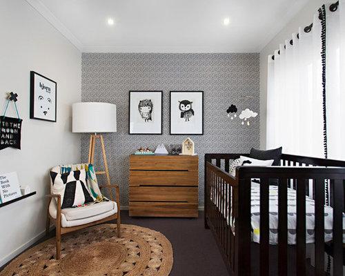chambre d 39 enfant romantique de taille moyenne photos et id es d co de chambres d 39 enfant. Black Bedroom Furniture Sets. Home Design Ideas