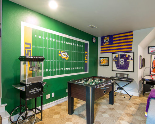 LSU Football Game Room Interesting Lsu Bedroom Style Painting