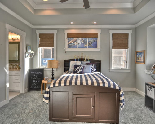 Benjamin Moore Wickham Gray Houzz