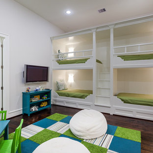 Inspiration for a timeless playroom remodel in Houston