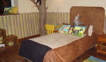 Madagascar Themed Bedroom