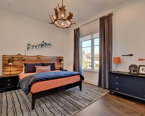 Rustic Funky Teen Bedroom Home Design Ideas & Photos