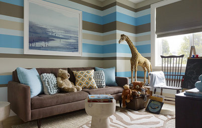 Houzz Tour: Sophisticated Family-Friendly Flat