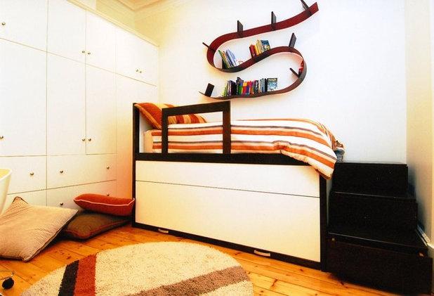 トランジショナル 子供部屋 by Cath Tonkin Interiors