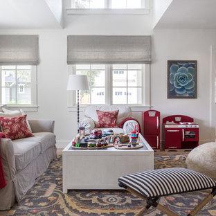 Inspiration For A Large Transitional Gender Neutral Light Wood Floor  Playroom Remodel In San Francisco
