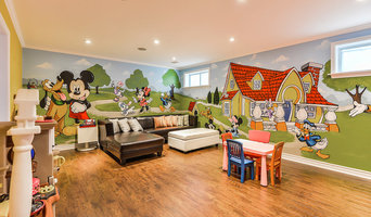 Mickey Playroom Mural, Murals By Marg