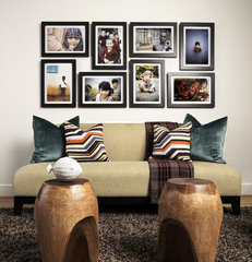 contemporary family room by Beth Dotolo, RID, ASID