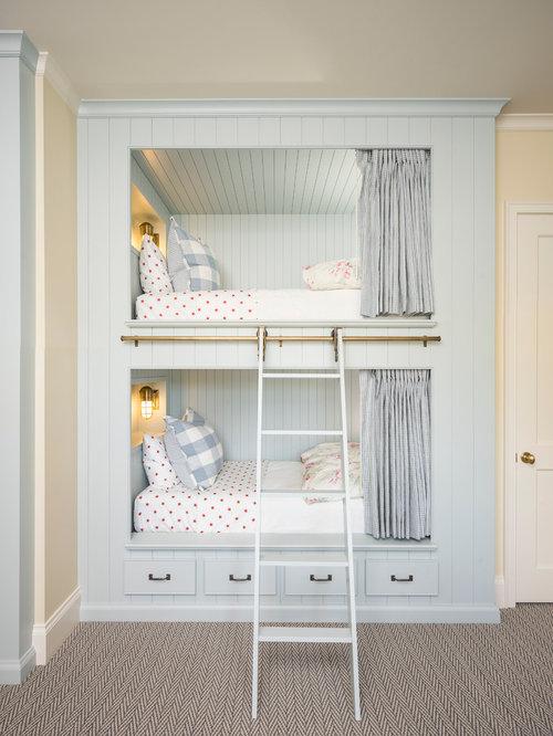landhausstil kinderzimmer ideen design houzz. Black Bedroom Furniture Sets. Home Design Ideas