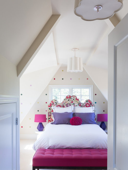 Teen polka dot bedroom home design ideas pictures for Polka dot bedroom designs