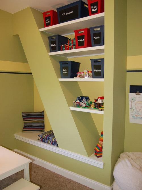 landhausstil gelbe kinderzimmer ideen design houzz. Black Bedroom Furniture Sets. Home Design Ideas