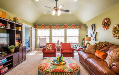 Room of the Day: Color Energizes a Texas Playroom