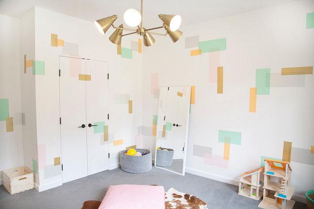 Contemporain Chambre d'Enfant by Abaca Interiors