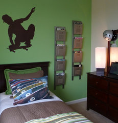 eclectic kids by Borden Interiors & Associates