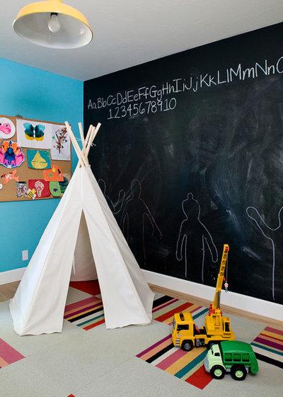 Éclectique Chambre d'Enfant by Julie Manning Interior Design