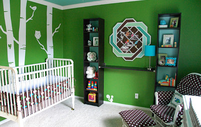 Room Tour: Nursery Becomes 'Modern Forest'