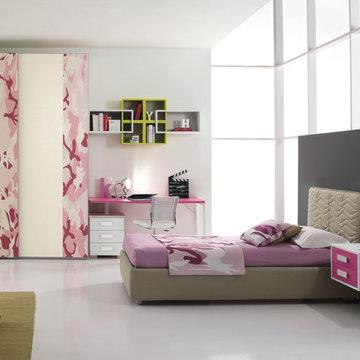 Modern Italian Kids Bedroom Set ONE 402 by SPAR