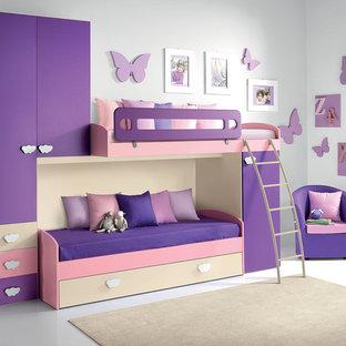Modern Kids Bunk Bedroom Furniture Set VV G029 - UmodStyle.com