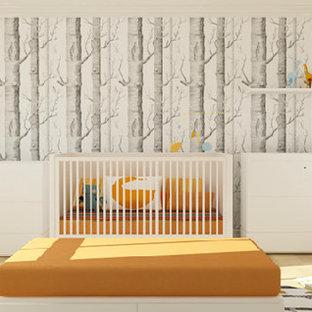Kids' room - modern kids' room idea in New York