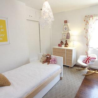Kids' room - contemporary girl kids' room idea in Los Angeles