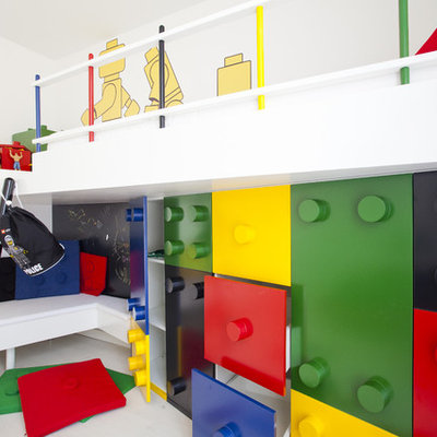Example of a trendy playroom design in Other