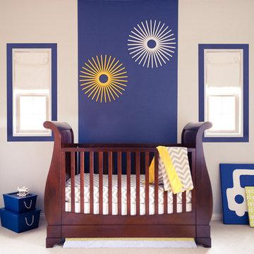 Modern Nursery for boy