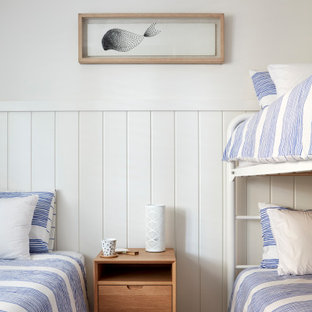 Inspiration for a small beach style kids' room in Sunshine Coast.